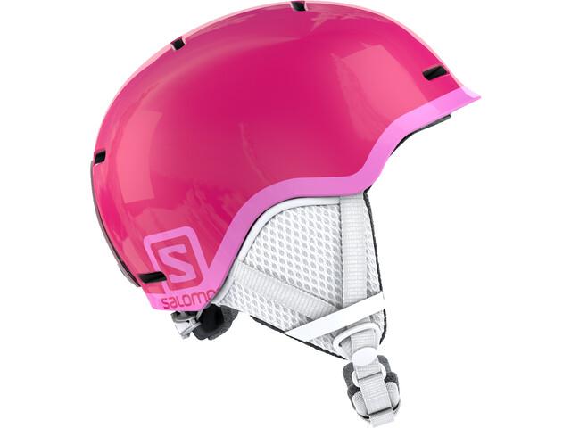 Salomon Grom Casco Niños, glossy/pink